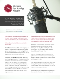 ilta radio podcast interview with darrell mervau