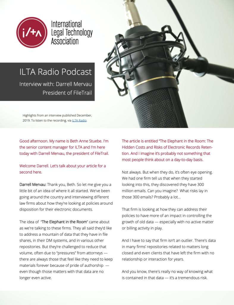 ilta radio podcast interview with darrell mervau