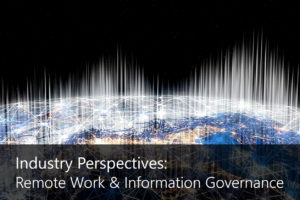 Remote working and information governance
