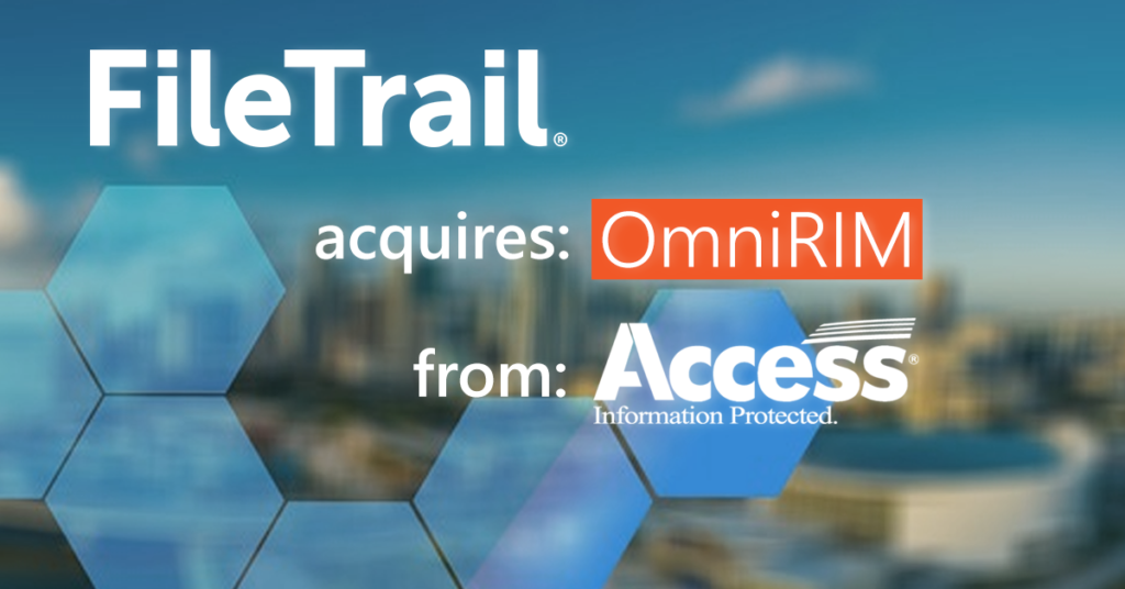 FileTrail acquires OmniRM Physical Records Management