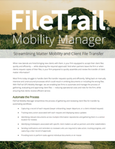 Matter Mobility Manager