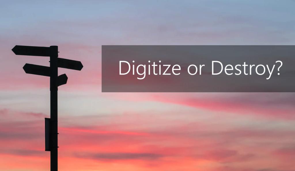 Should law firms digitize or destroy client matter records?